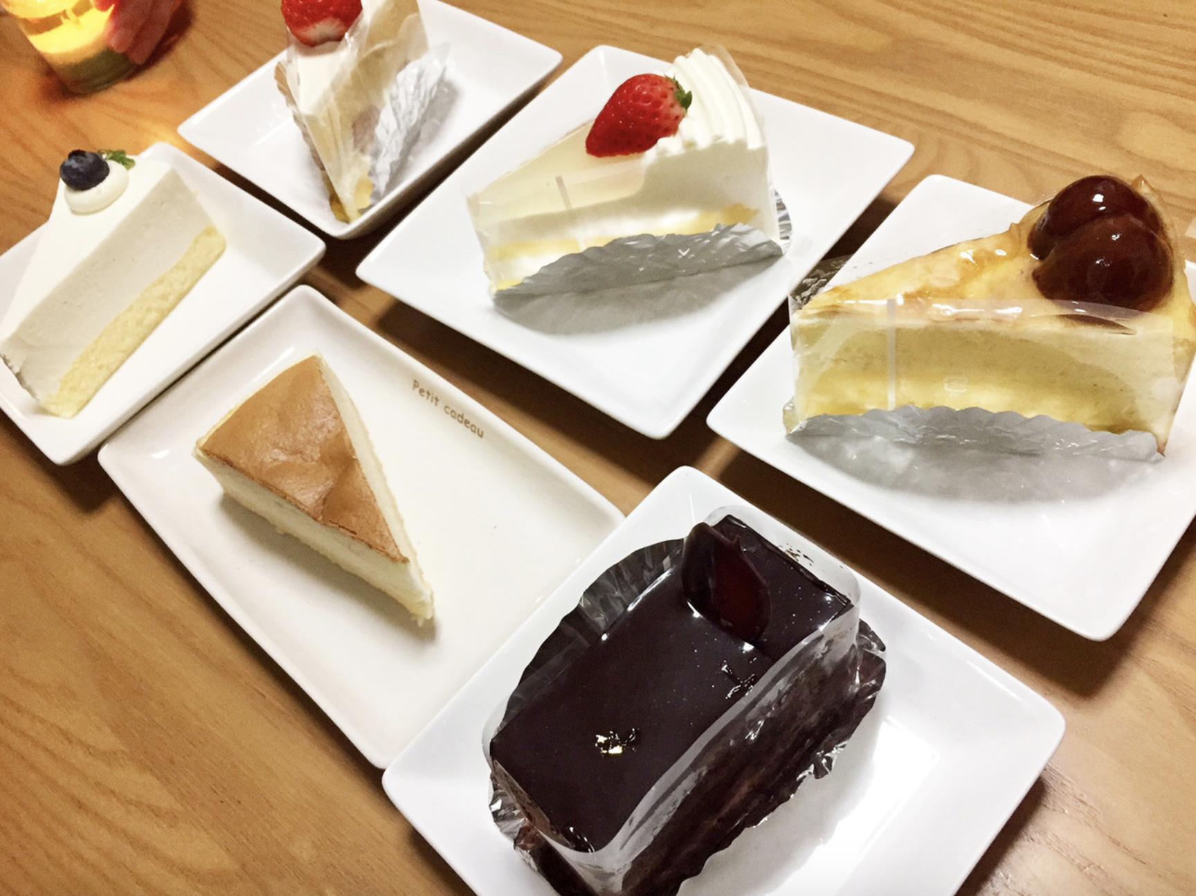 oubonのテイクアウトできるケーキ