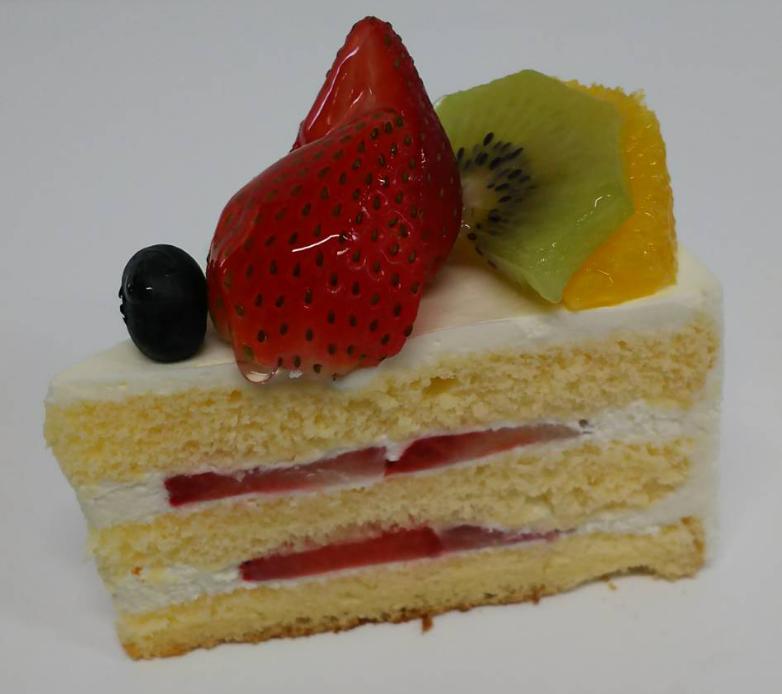 米粉を使っているのにフワフワな食感のケーキ
