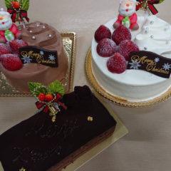オーボンのクリスマスケーキ